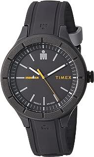 Timex Men's Ironman Essential TW5M16900 Black Silicone Quartz Sport Watch