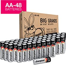 Energizer AA Batteries (48Count), Double A Max Alkaline...