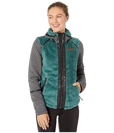 Obermeyer Stella Fleece Jacket (Sage) Women