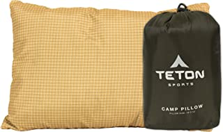 TETON Sports Camp Pillow; Great for Travel, Camping and Backpacking; Washable