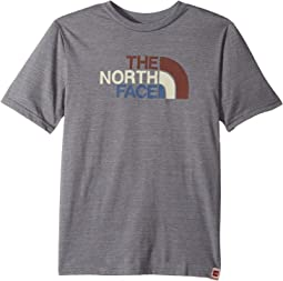 The North Face Kids - Short Sleeve Tri-Blend Graphic Tee (Little Kids/Big Kids)