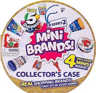 5 Surprise Mini Brands Collector's Case Series 2 (همراه با 4 انحصاری مینی) 4 انحصاری مینی توسط ZURU