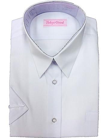 2da4390dbfbdc スクール シャツ ブラウス 女子 Yシャツ A体 B体 長袖 半袖