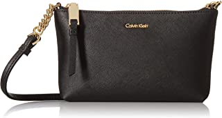 Calvin Klein Women's Hayden Saffiano Leather Crossbody
