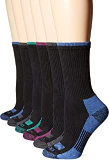 Women's Dritech Advanced Moisture Wicking Crew Sock (6/12...