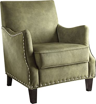 Amazon Com Baxton Studio Tamblin Linen Modern Accent