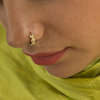 nose ring indian gold