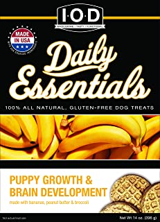 Isle Of Dogs Daily Essentials Puppy Growth & Brain Development Snack Treat, 14 Ounce