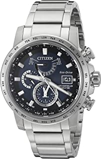 Citizen Men's Eco-Drive Stainless Steel World Time A-T Watch