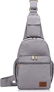 Hippie Crossbody Bag Large sling bag Multipurpose Jacquard Canvas Cloth Fashion Backpacks
