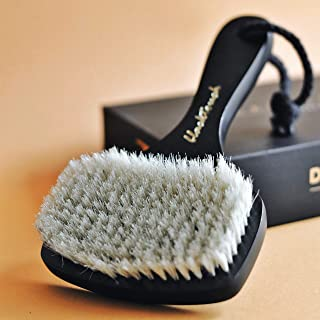 BlackTouch Dry Brushing Body Brush for Cellulite and Lymphatic Drainage Massage - Natural Bath Facial Exfoliating Scrubber...