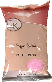 CK Products 78-3106 1 Crystal Sugar, Pastel Pink