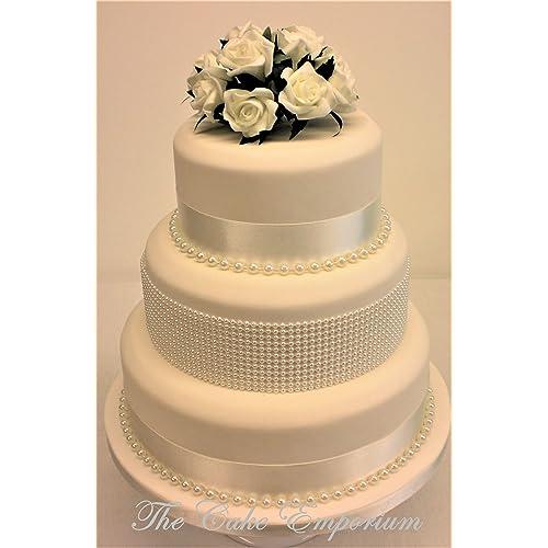 Wedding Cake Flowers.Wedding Cake Flowers Topper Amazon Co Uk