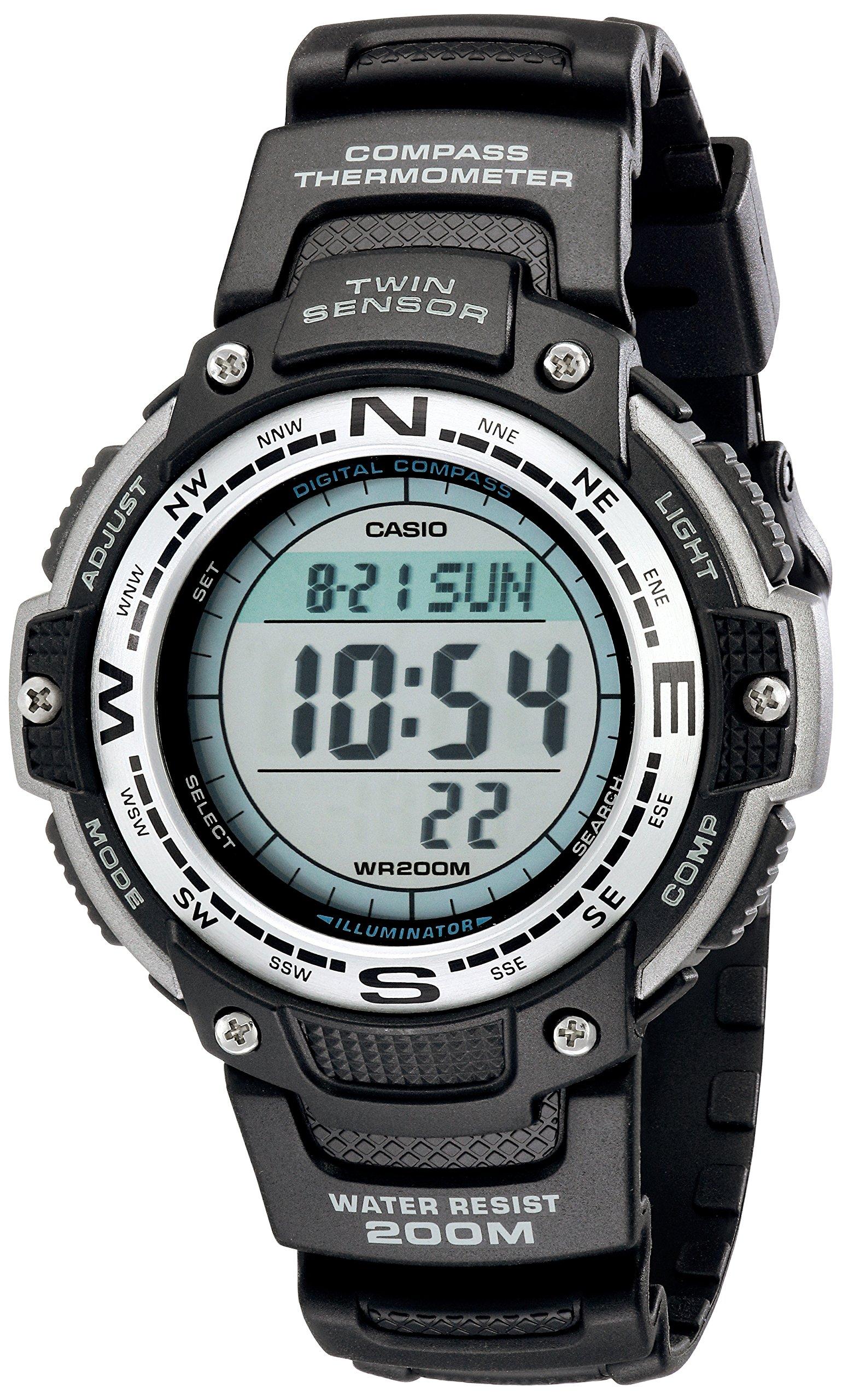 Casio SGW100 1V Sensor Digital Black