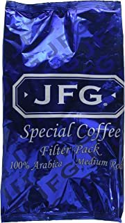 JFG Coffee Filter Packs, 1.5 oz, 7 count, Pack of 6