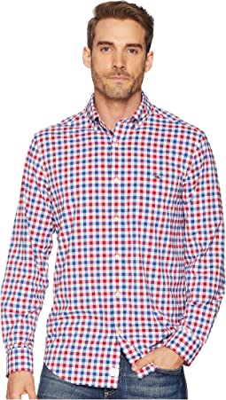 Performance Gull Island Gingham Tucker Shirt