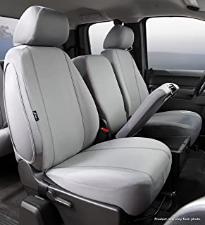 Fia SP87-35 GRAY Custom Fit Front Seat Cover Split Seat 40/20/40 - Poly-Cotton, (Gray)