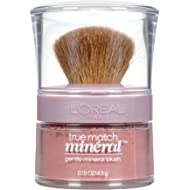 L'Oréal Paris Makeup True Match Loose Powder Natural Mineral Blush, Soft Rose, 0.15 oz.