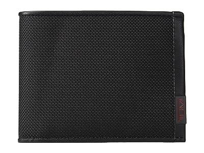 Tumi Alpha Global Double Billfold (Black) Bill-fold Wallet
