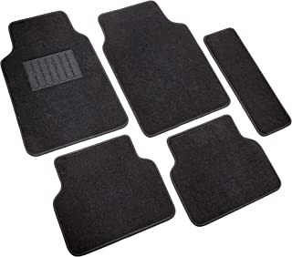 Highland 4680500 5th Avenue Black Ultimate Luxury Carpet Floor Mat - 5 Piece
