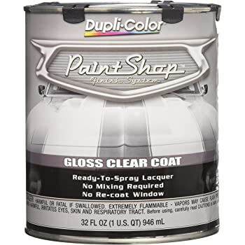 Dupli-Color EBSP30000 Clear Coat Paint Shop Finish System - 32 oz., Clear Gloss