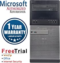 Dell 7010 Business High Performance Tower Desktop Computer PC (Intel CORE I7 3770 3.4G,16G DDR3,3TB,DVDRW,W10P64)(Certified Refurbished)-Multi-Language Support English/Spanish