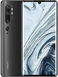 Xiaomi Mi Note 10 Smartphone, Dual Sim, 128GB, 6GB Ram - Midnight Black [Global Version]