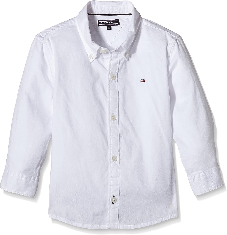 Tommy Hilfiger Boys Solid Oxford Shirt L//S