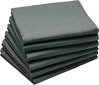 Coucke 3152192181047Towel Cotton Anthracite 63x 45x 0.3cm Set of 6
