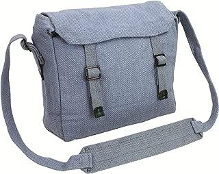 Highlander Military Style Webbing Shoulder Bag/Haversack - Ideal for College
