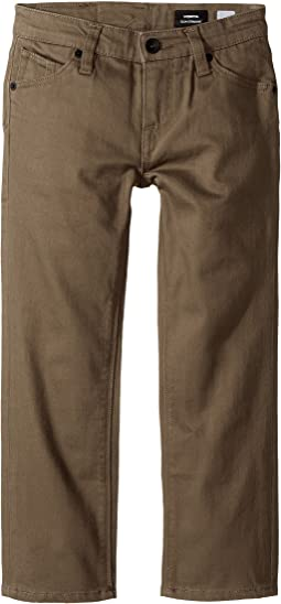 Volcom Kids - Vorta Five-Pocket Slub Pants (Toddler/Little Kids)