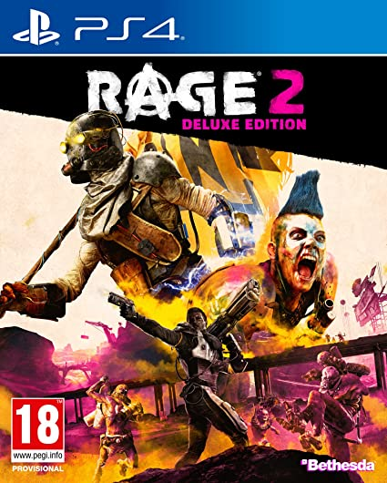 Rage 2 Deluxe Edition - PS4