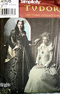 Simplicity Tudor Costume Collection Pattern 4508 ~ Misses' Sizes 8-10-12-14