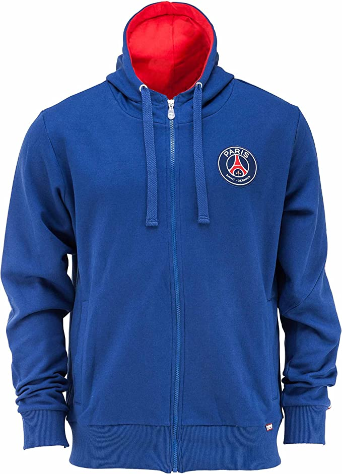Paris Saint Germain - Felpa con cappuccio PSG, collezione ...