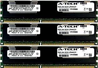 A-Tech Micron 12GB Kit 3X 4GB PC3-10600 1.5V for HP ProLiant SL270S G8 500658-B21 DL170E G6 SL4540 G8 BL2X220C G6 BL2X220C G7 500203-061 BL420C G8 BL460C G8 BL490C G7 500658-S21 Memory RAM