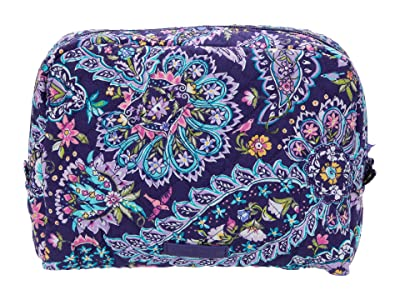 Vera Bradley Iconic Large Cosmetic (French Paisley) Cosmetic Case