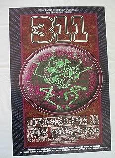 2005 311 Concert Poster