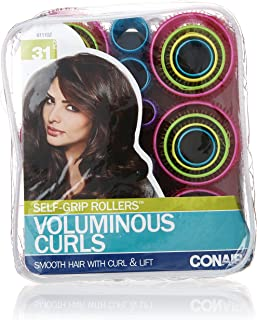 Conair Self-Grip Rollers, Assorted, 31 Count
