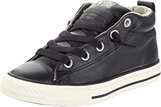 Converse Chuck Taylor Leather Street Mid Youth Kids