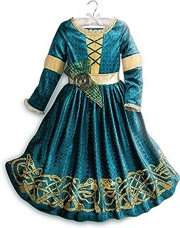 Disney Merida Costume for Kids Green