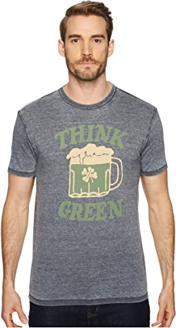 Lucky Brand - St Pats Day Green Beer Tee