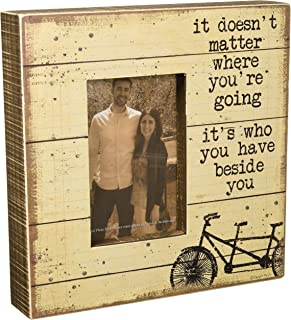 Primitives by Kathy Rustic-Inspired Box Frame, Beside You