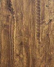 Papel de parede de madeira envelhecida madeira rústica papel de contato madeira grão recuperado madeira papel de parede ba...