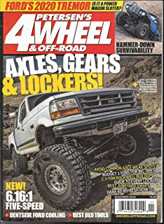 PETERSEN'S 4 WHEEL & OFF- ROAD MAGAZINE,AXLES, GEARS & LOCKERS ! NOVEMBER, 2019 ( PLEASE NOTE: ALL THESE MAGAZINES ARE PET & SMOKE FREE MAGAZINES. NO ADDRESS LABEL. FRESH FROM NEWSSTAND) (SINGLE ISSUE MAGAZINE)