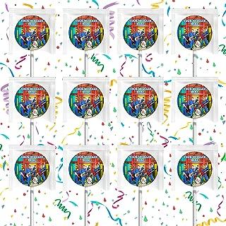 Imagination Movers Party Favors Supplies Decorations Lollipops 12 Pcs