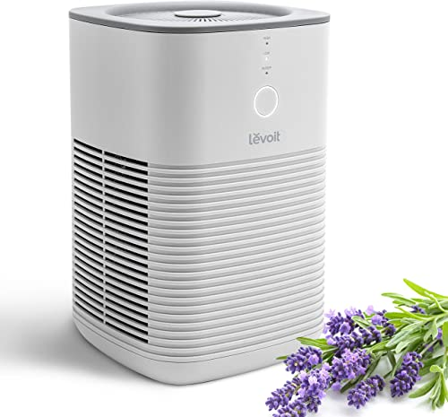 LEVOIT Air Purifier for Home Bedroom, Dual H13 HEPA Filter Remove 99.97% Dust Mold Pollen Pet Dander, Desktop Air Cle...