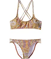 O'Neill Kids - Cozmo Multi Strap Bikini Set (Little Kids/Big Kids)