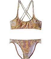 O'Neill Kids - Cozmo Multi Strap Bikini Set (Little Kids/Big Kids)