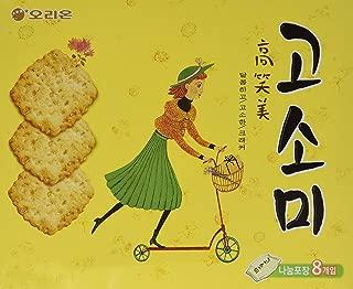 sesame coconut crackers