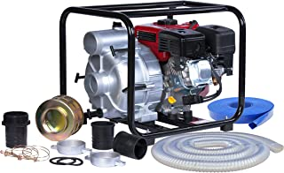 A-iPower AWP80 7.0HP 208cc 3 Inch Gas Engine Trash Water Pump